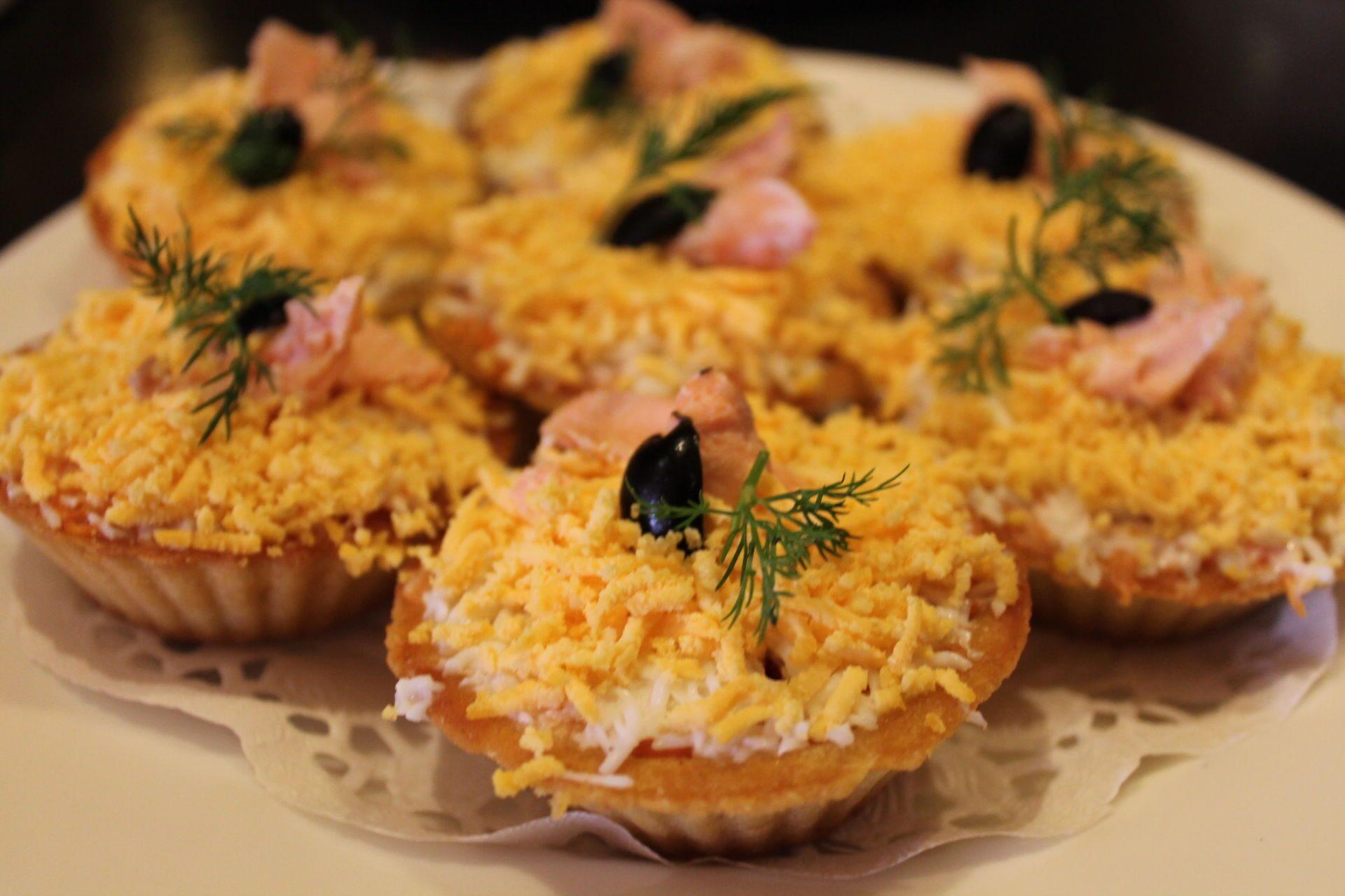 Салат мимоза в тарталетках рецепты